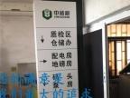 烤漆商场吊牌吊式发光导向标识牌医院吊牌双面指示牌LED镂空灯箱
