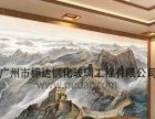 风水墙玉雕玄关木雕屏风3D加盟电视背景墙艺术背景