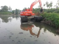 韩国斗山215型水陆挖机出租水陆挖掘机租赁服务直销
