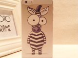 批发苹果iphone6 PLUS手机壳超薄情侣斑马大象可爱手机壳