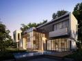 重庆大足自建房 别墅 小洋房 乡镇房屋 景观设计及施工