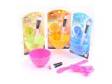 供应DIY调面膜美容美妆工具套装4件套 面膜工具 美眉必备
