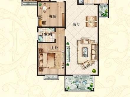 特价现房,看房随时,盛世华都 3室 2厅 89平米 出售