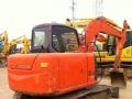 环球二手挖掘机批发市场 直销精品日立ZX60小型二手挖机