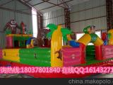 厂家定做儿童气模玩具/儿童蹦蹦床/大型充气城堡
