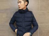 2014冬季新款男式韩版时尚羽绒棉衣 厂家特价批发男式服装