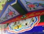 邯郸文化墙 邯郸主题手绘 邯郸3D墙绘 邯郸古建