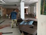 玻璃隔断拆除,石膏板隔墙拆除 吊顶拆除 打瓷砖