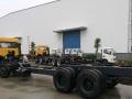楚风前四后八低凹下凹挖机机拖车工程机械平板运输车(专利车)