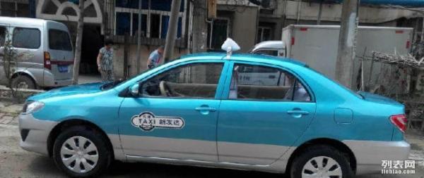 长租新更花冠出租车,可跑全天津