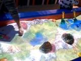 儿童乐园 沙池投影互动