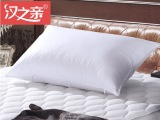 汉之亲 保健枕芯 纯棉面料充气枕头 厂家直销单人枕芯 全棉夏天