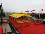 广州庆典铝架帐篷会议桌椅舞台背景开业庆典贵宾椅铁马护栏空调扇