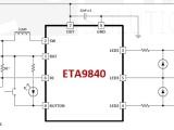 选ETA9840做充电输入5V/3A放电2.4A移动电源IC