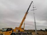 河北廊坊电力供应兰州市电力钢杆高10kv压管塔