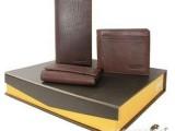 中秋精美套装礼品 卡包钥匙包套装礼盒皮带钥匙包卡包 可定制log