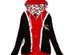 2014新款秋装学院风阿桑娜a02风格拼色韩版学生女款连帽卫衣外套