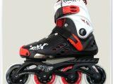 厂家批发:5766黑白款|旱冰鞋|单排溜冰鞋|滑冰鞋|轮滑鞋|平