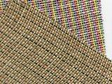 15年新款格力特 编织纹人造革