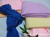供应涤锦80/20 超细纤维毛巾 干发巾 纳米毛巾 美容美发巾