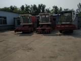 转盘式青储机玉米秸秆黄储机养殖用自走式秸秆回收机