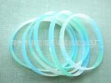 长期供应 硅胶夜光手环 UV紫外线印刷刻字橡胶制品