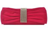 一件代发2015新款女包欧美褶皱镶钻蝴蝶外贸高档晚宴手拿包新娘包