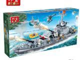 8240邦宝正品积木 雷霆战舰 拼装小颗粒 儿童积木玩具