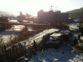 101路桥公司对面 有平房出售 带上千平方米大院