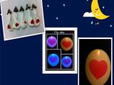 2014外贸较火爆发光气球LED气球闪光气球 厂家直销聚会婚礼p