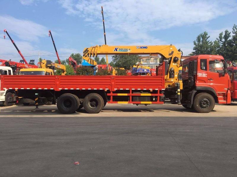 延边珲春专业定做东风5吨8吨10吨随车吊厂家直销
