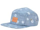 厂家批发欧美潮牌新款牛仔布料印花棒球帽男女夏季宽檐平檐嘻哈帽