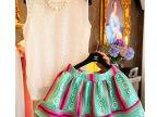 2015夏季新款韩版三件套女镂空蕾丝上衣 印花半身裙套装裙爆款