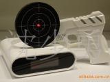 专利创意射击闹钟 2012奇特射击玩具 正品枪手枪闹钟