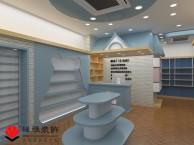 合肥母婴店装修 母婴店展柜设计 母婴店布局效果图