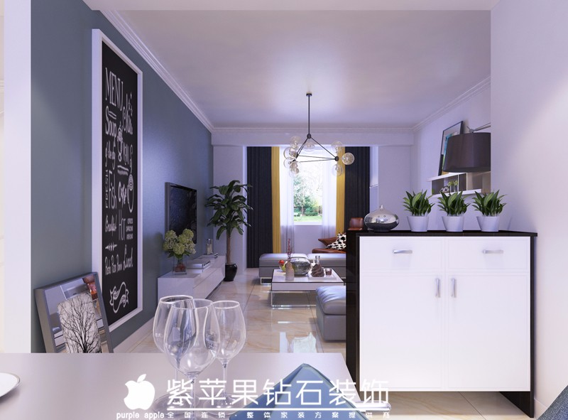 兴庆区100平装修只要56000元