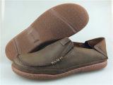 外贸原单正品男鞋 头层牛皮单层套脚皮鞋 一脚蹬懒人鞋