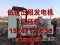 长春200千瓦以上大型发电机出租,进口发电机租赁