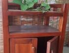 低价销售老船木实木家具功夫茶台博古架阳台小茶桌茶水柜