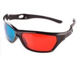 大富批发大框通用款圆偏光 3D眼镜 电视3D眼镜 大框眼镜 现货