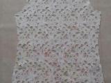 精品花边纯棉水溶半成品 蕾丝刺绣花边衫单