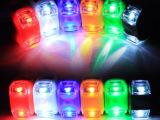 较新款双头青蛙灯 硅胶灯 车把警示灯 自行车装饰尾灯