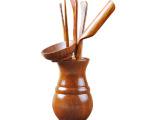 神雕 功夫茶具黄花梨茶道六君子零配 茶盘配件 木质茶针茶勺茶夹