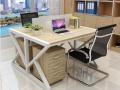 重庆学校双人多媒体教室翻转电脑桌 重庆优质职员多人办工桌椅