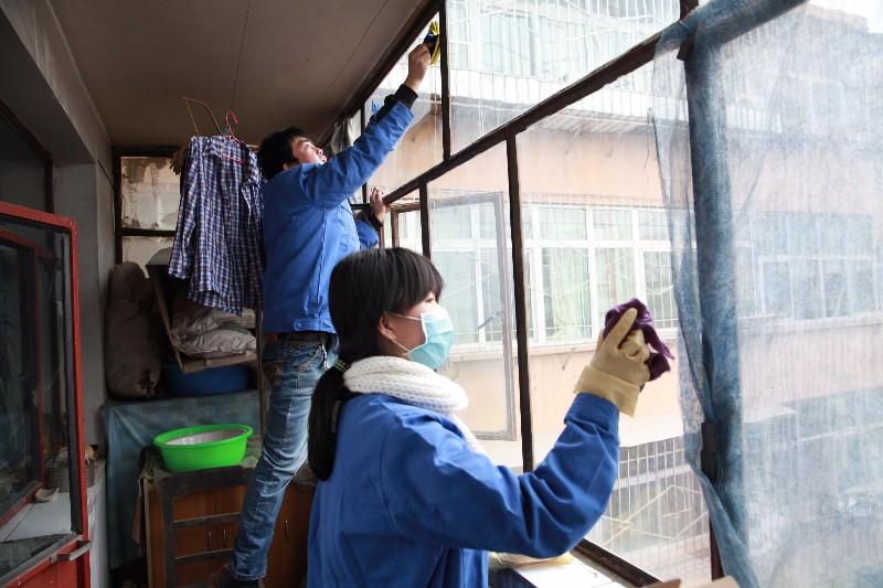 兰州市专业擦玻璃 保洁清洗
