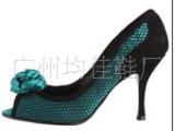 厂家直销2012  新款羊皮女鞋小码高跟凉鞋大码鞋宴会礼服鞋