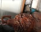 大摆件,实木雕刻。
