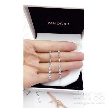 Pandora潘多拉流星耳坠耳环耳钉296351CZ