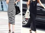 韩版春夏季女士莫代尔U型领背心长裙批发 女式拖地长款连衣裙子