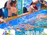 南宁新型喂奶鱼池玻璃钢鱼池定制吃奶鱼鱼池厂家直销